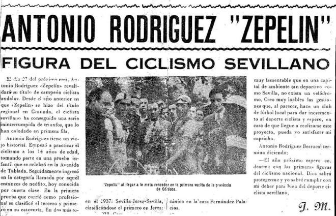 """Antonio Rodríguez """"Zepelin"""""""