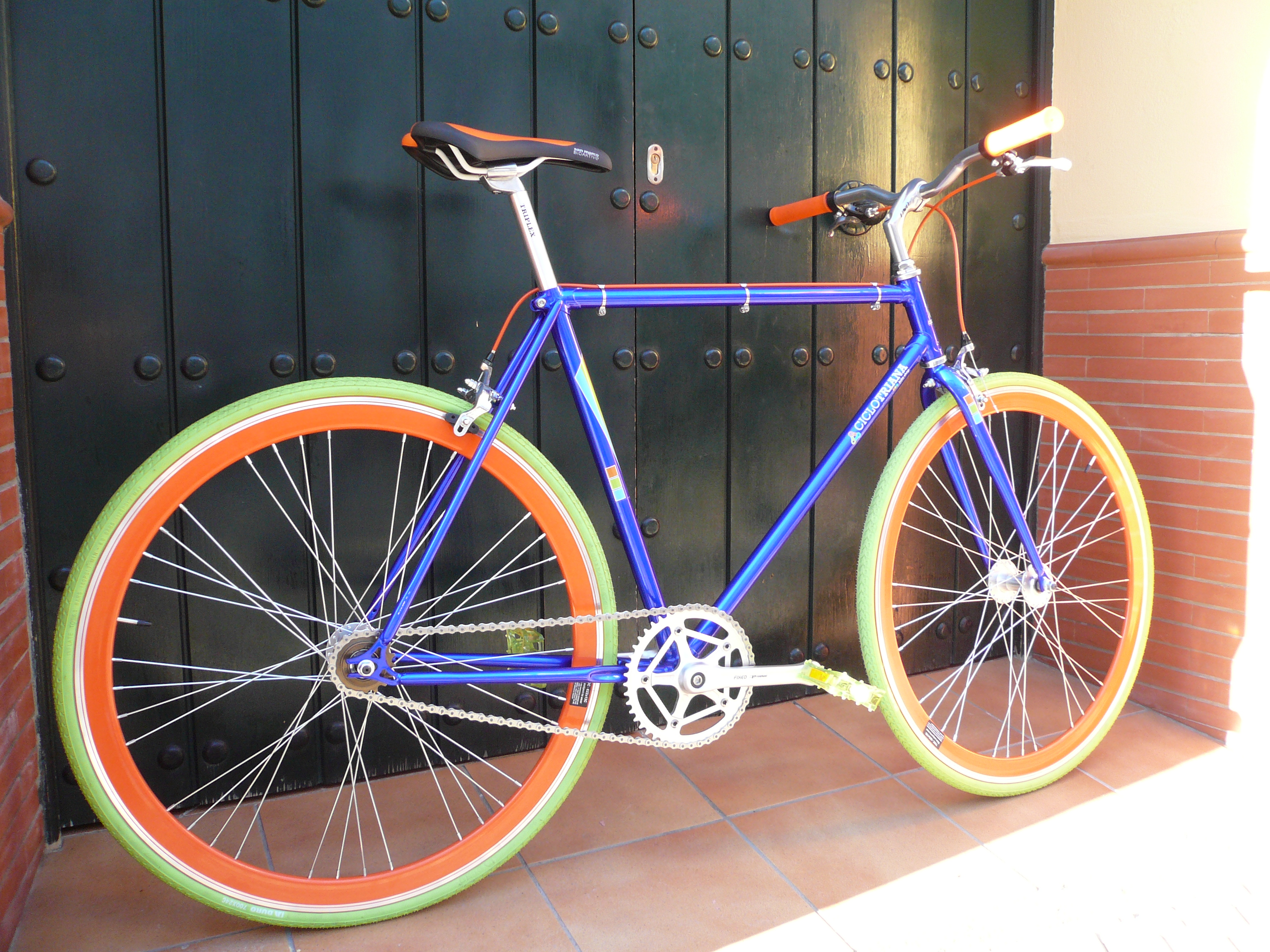 Single speed colores Ciclo Triana